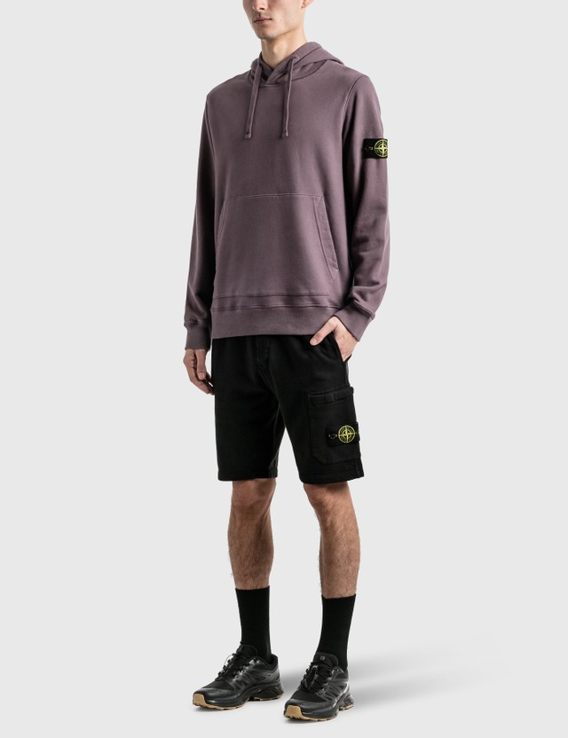 Stone Island Classic Sweat Shorts Nero Men