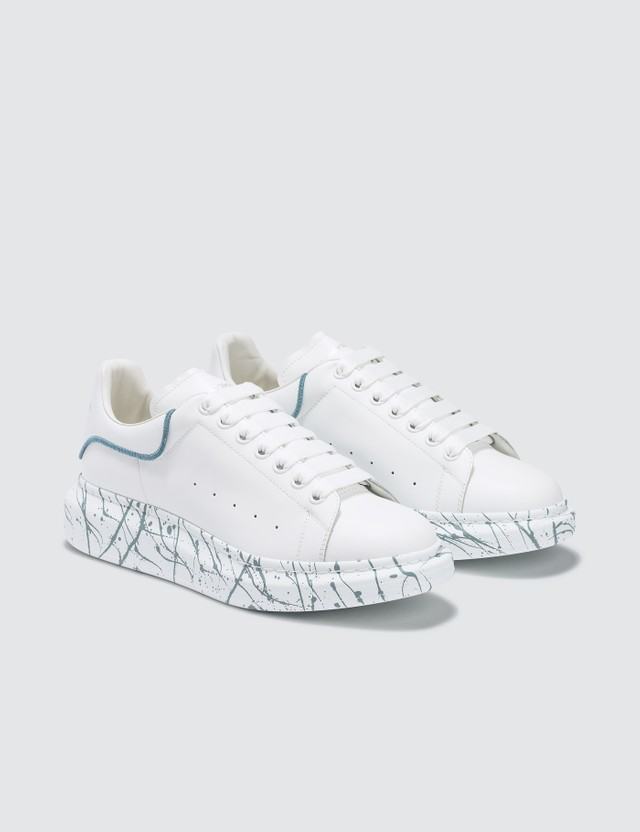 Alexander McQueen Spray Painted Classic Sneakers