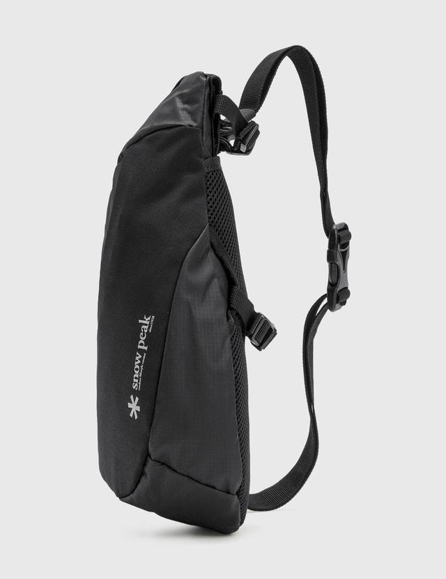Snow Peak Side Attack Bag Black Men