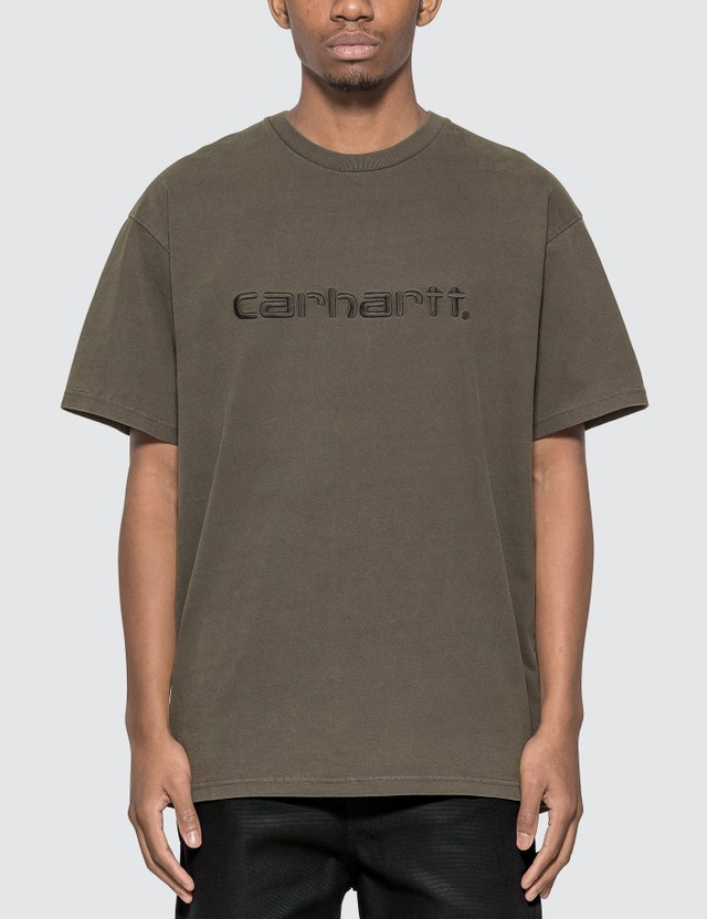Carhartt Work In Progress Carhartt Embroidery T-shirt