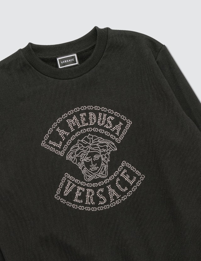 Versace Medusa Studded Sweatshirt (Toddler)