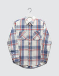 Visvim Black Elk Flannel L/S Picture