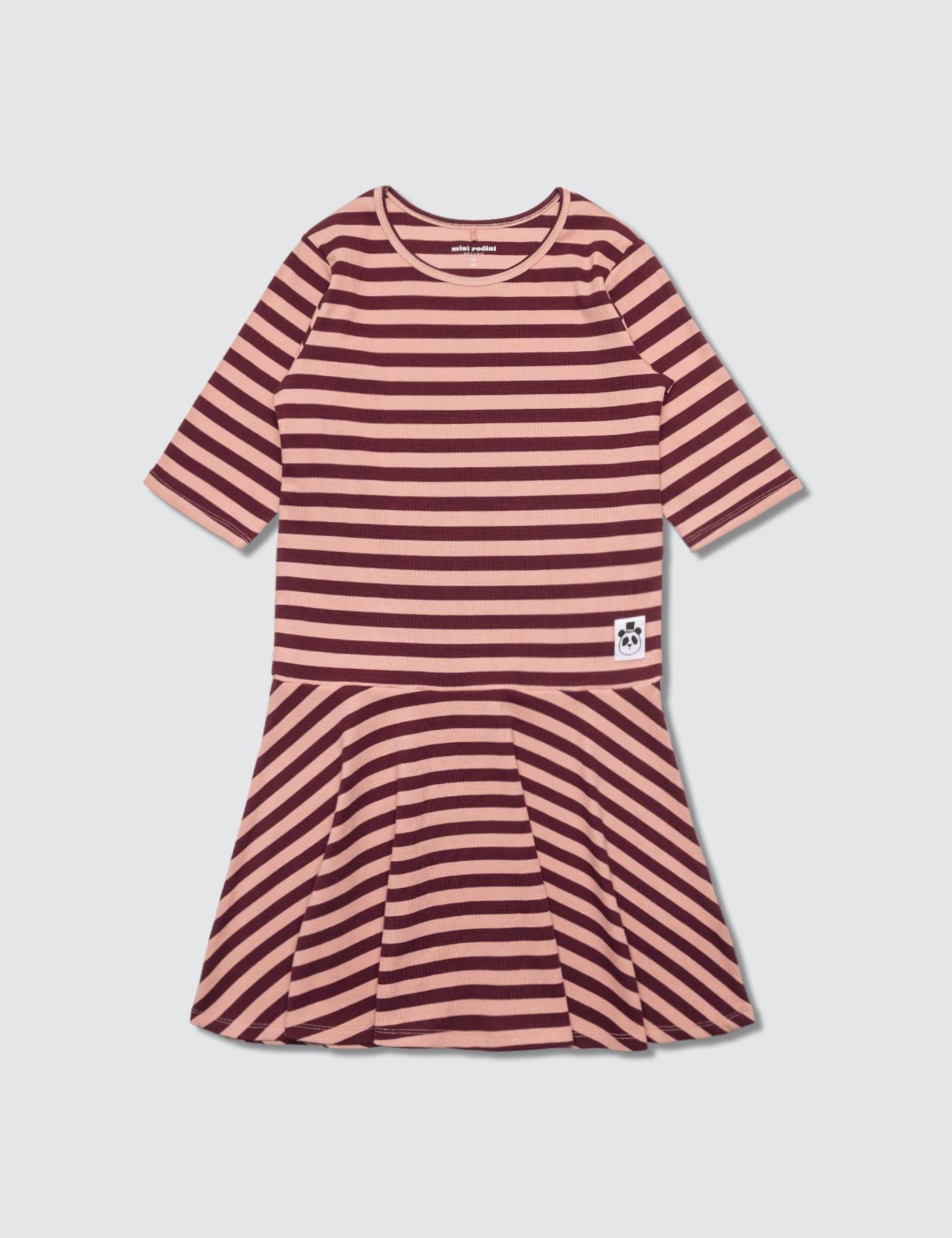 Stripe Rib Dance Dress
