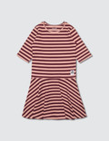 Mini Rodini Stripe Rib Dance Dress Picture