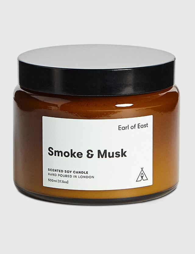 Earl Of East Smoke & Musk Soy Wax Candle N/a Unisex