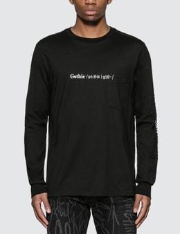 Takahiromiyashita Thesoloist Gothic Long Sleeve T-Shirt