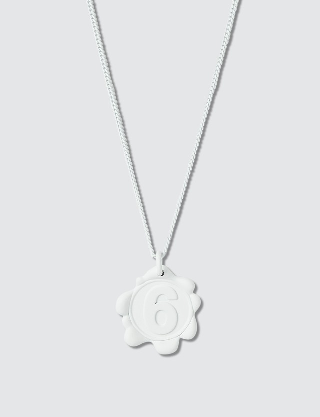 MM6 Maison Margiela 6 Logo Necklace