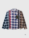 Needles 7 Cuts Flannel Shirt =e44 Men