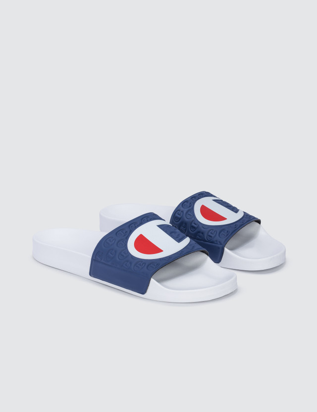 Champion Reverse Weave Pool Slides