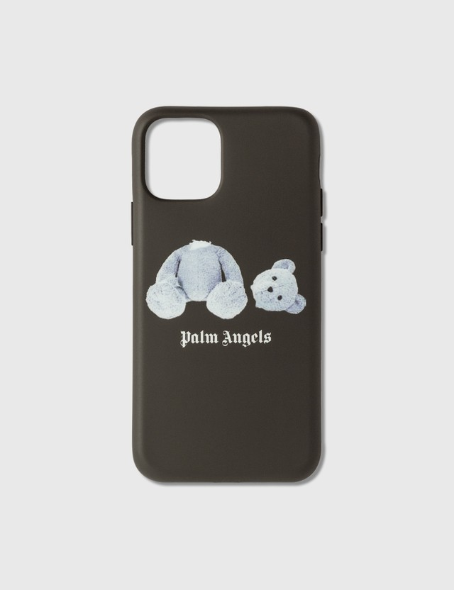Palm Angels Palm Angels Ice Bear iPhone Case 11 Pro Black Whit Women