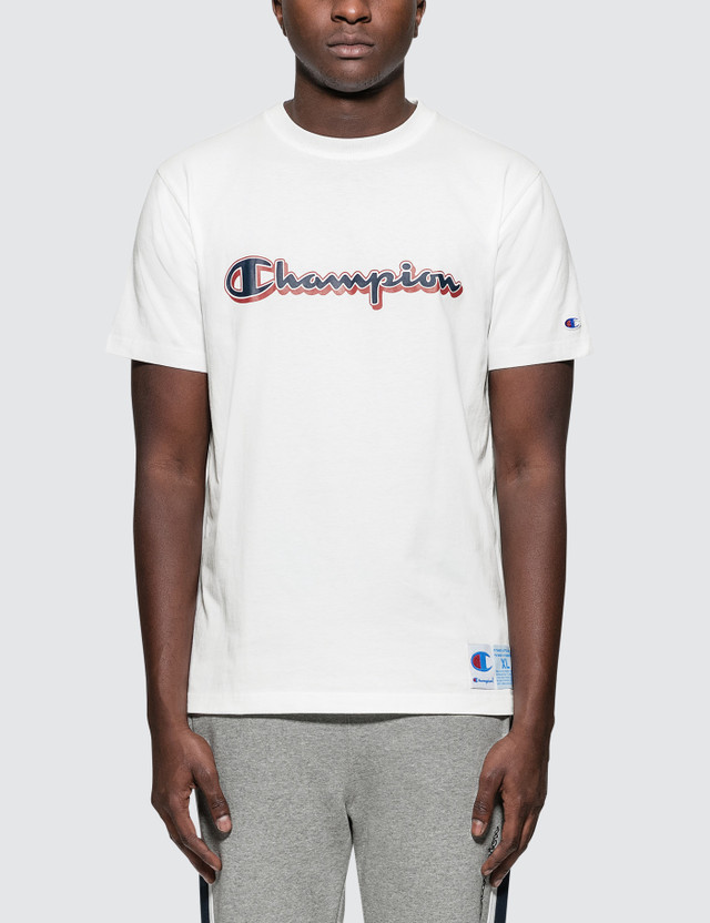 Champion Japan Scrip Logo S/S T-Shirt