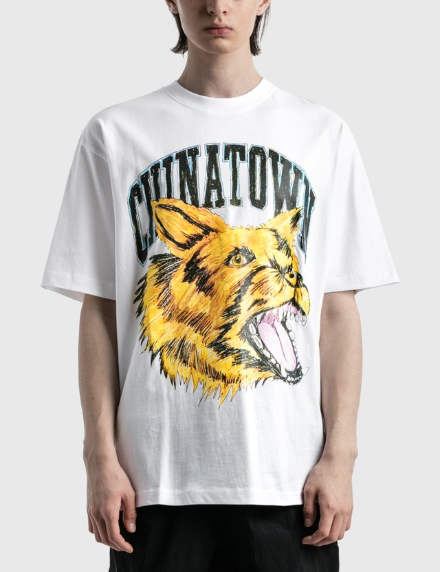Chinatown Market Beware Sketch T-shirt White Men