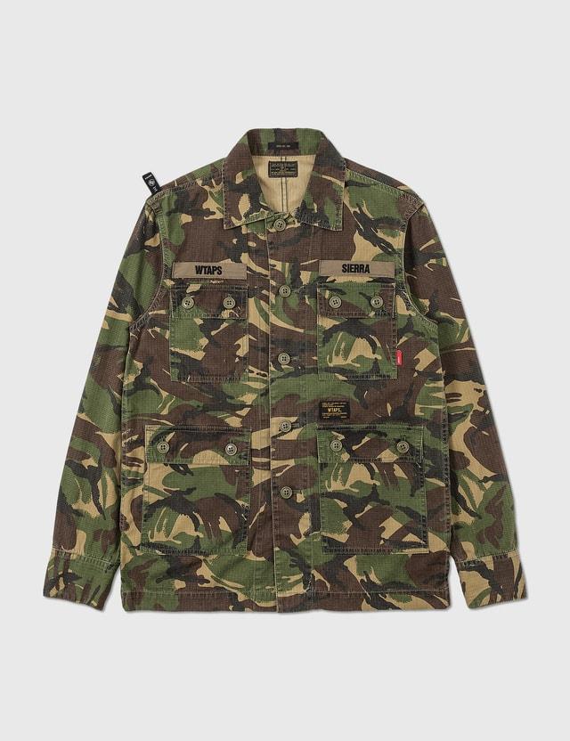 WTAPS Wtaps Camo Shirt Jacket Camo Archives