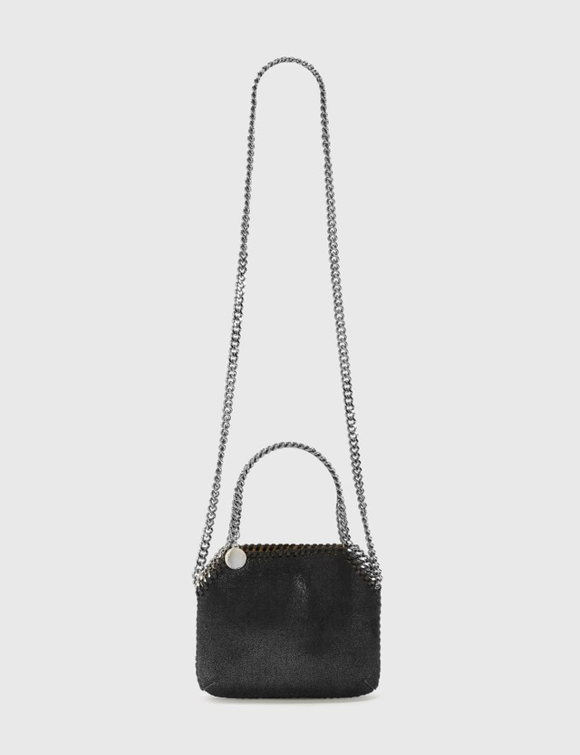 Stella McCartney Mini Falabella Shoulder Bag 1000 Black Women