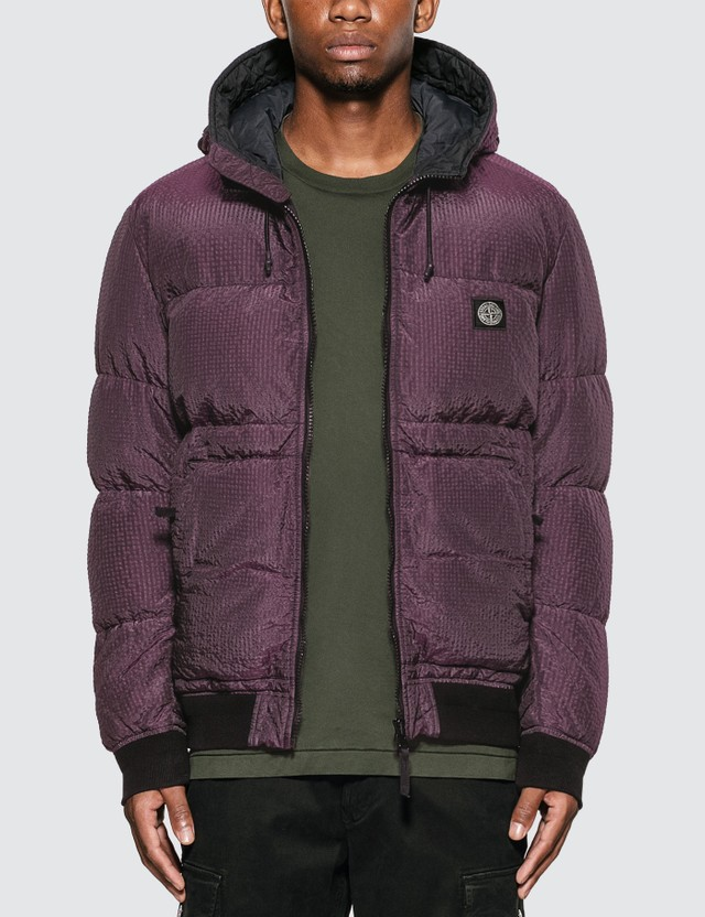 Nylon Metal Down Jacket
