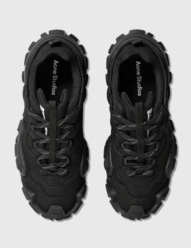 Acne Studios Bolzter M Sneaker Black/black Men