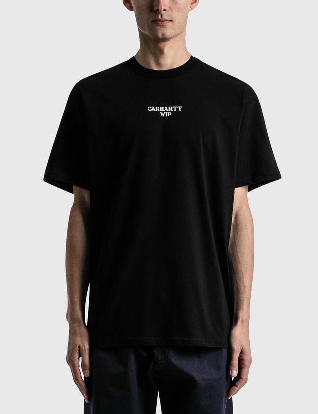 Carhartt Work In Progress Panic T-shirt Black / White Men