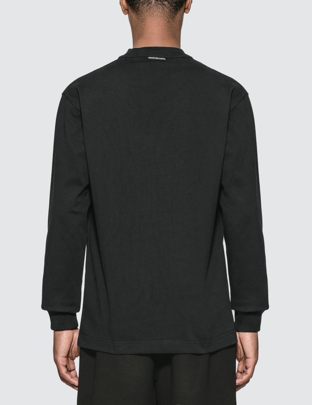 Alexander Wang Logo Graphic Long Sleeve T-Shirt