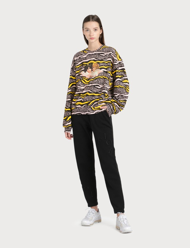 Fiorucci Vintage Angels Wildlife Printed Sweatshirt