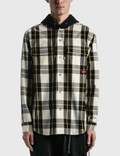 Mastermind Japan Block Plaid Hooded Shirt Jacket 사진