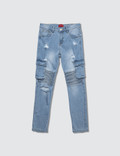 Haus of JR Clayton Cargo Biker Jeans Picture