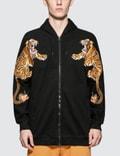 Maharishi Tiger Style Zip Up Hoodie Picutre