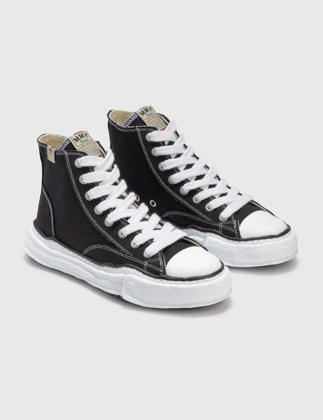 Maison Mihara Yasuhiro Original Sole Canvas Hicut Sneaker