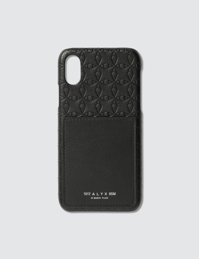 "1017 ALYX 9SM ""A"" Logo iPhone X/Xs Case"
