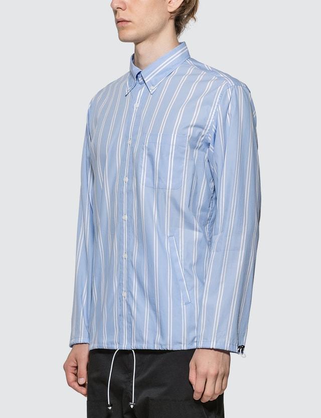 SOPHNET. Cuff Code BD Shirt