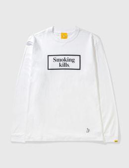 #FR2 Smoking Kills Box Logo Long Sleeve T-shirt