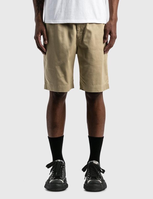 Nanamica Easy Chino Shorts Khaki Kk Men