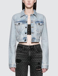 Alexander Wang.T Bare Cropped Jacket Picture