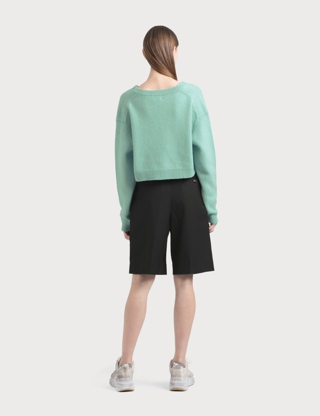 Acne Studios Wool-blend Shorts