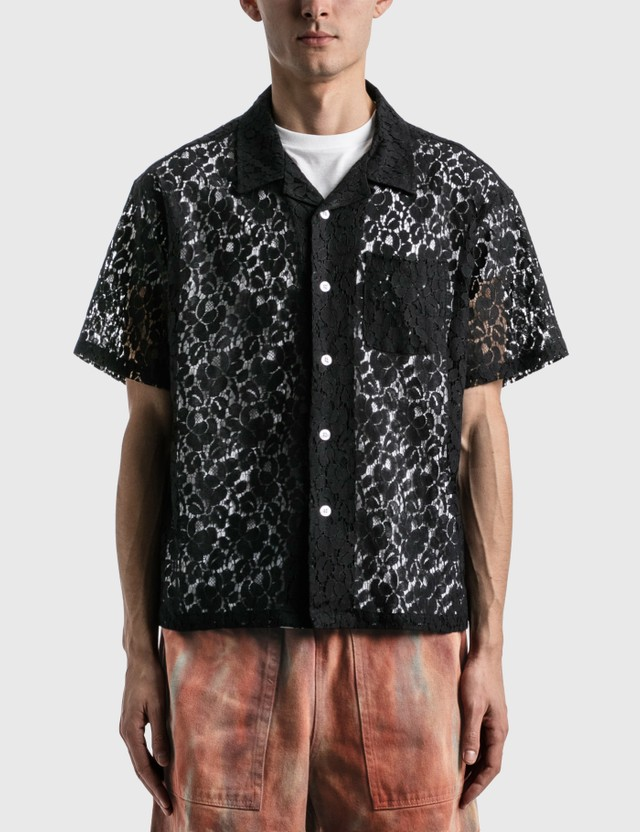 Stussy Floral Pattern Lace Shirt