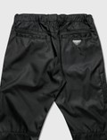 Prada Re-Nylon Elasticated Waist Track Pants Black Men