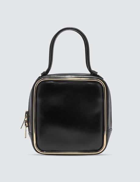 알렉산더 왕 헤일로 탑핸들백 - 블랙 골드 Alexander Wang Halo Top Handle Bag