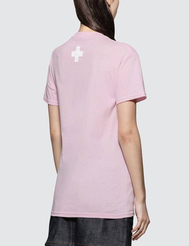 Places + Faces Box Logo T-shirt Pink Women