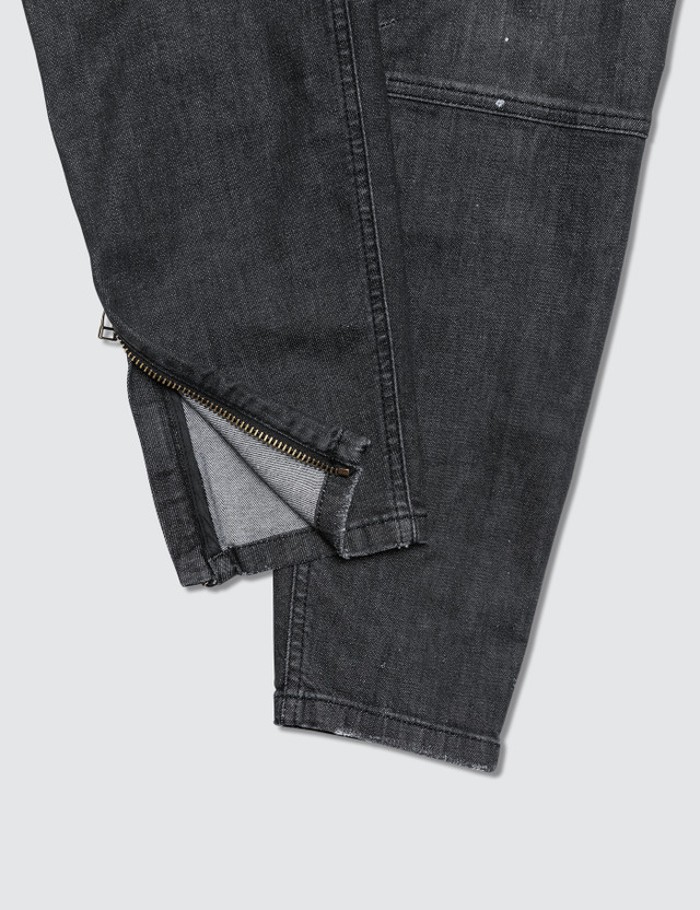 Faith Connexion Black Slim Fit Cargo Jean