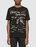 Saint Laurent Jacquard Saint Laurent T-Shirt Black Men