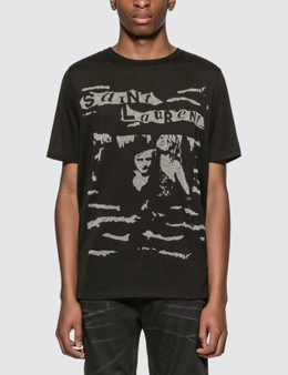 Saint Laurent Jacquard Saint Laurent T-Shirt