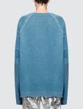 Maison Margiela Garment Dyed Mona Lisa Logo Sweater