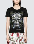 Alexander McQueen Dark Ophelia Skull Short Sleeve T-shirt Picture