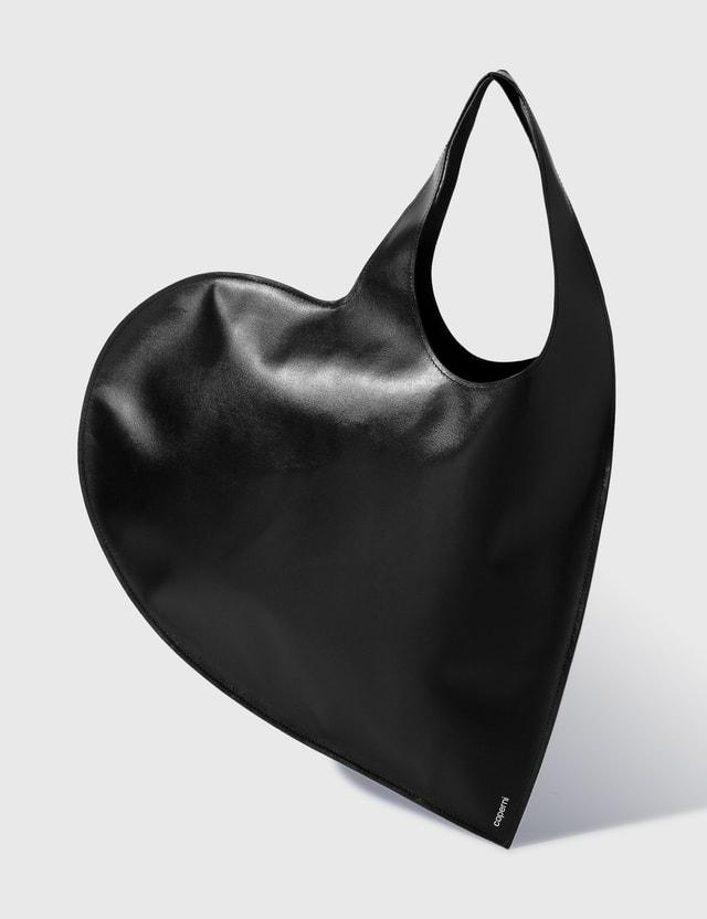 Coperni Heart Tote Bag Black Women