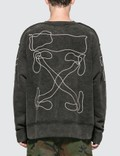 Off-White Abstract Arrows Incomp Sweatshirt Picutre