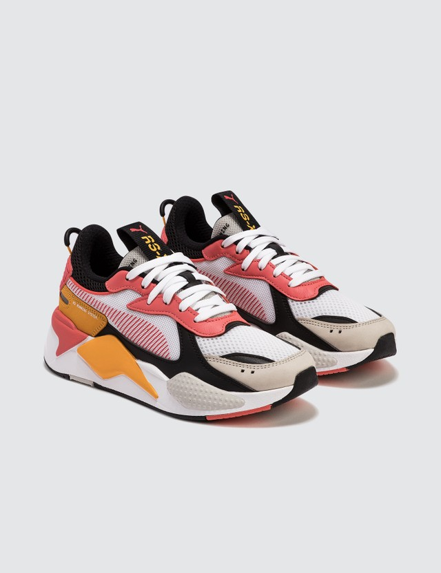 Puma RS-X Toys Puma White-hot Coral-puma Black Women