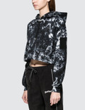 Wasted Paris Tie Dye Cropped Hoodie