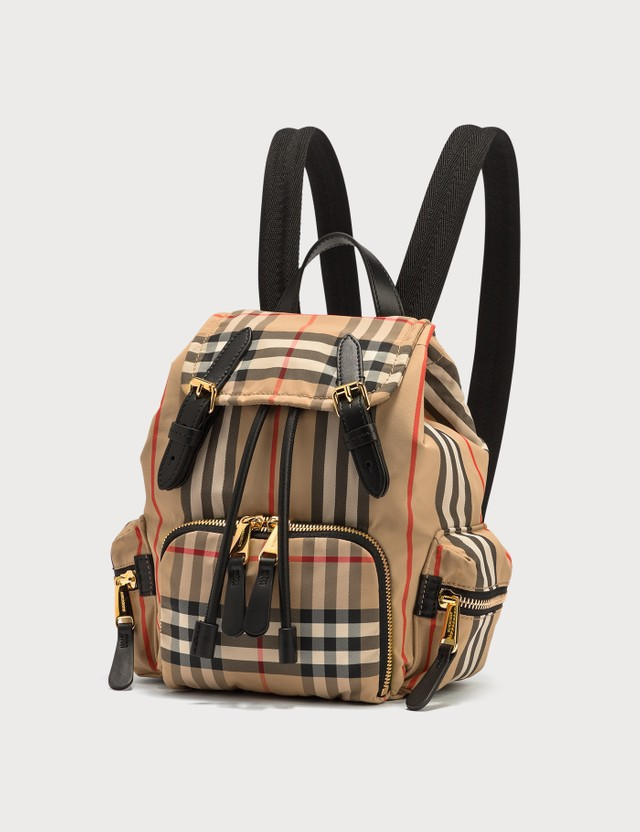 Burberry Mini Rucksack in Vintage Check ECONYL®