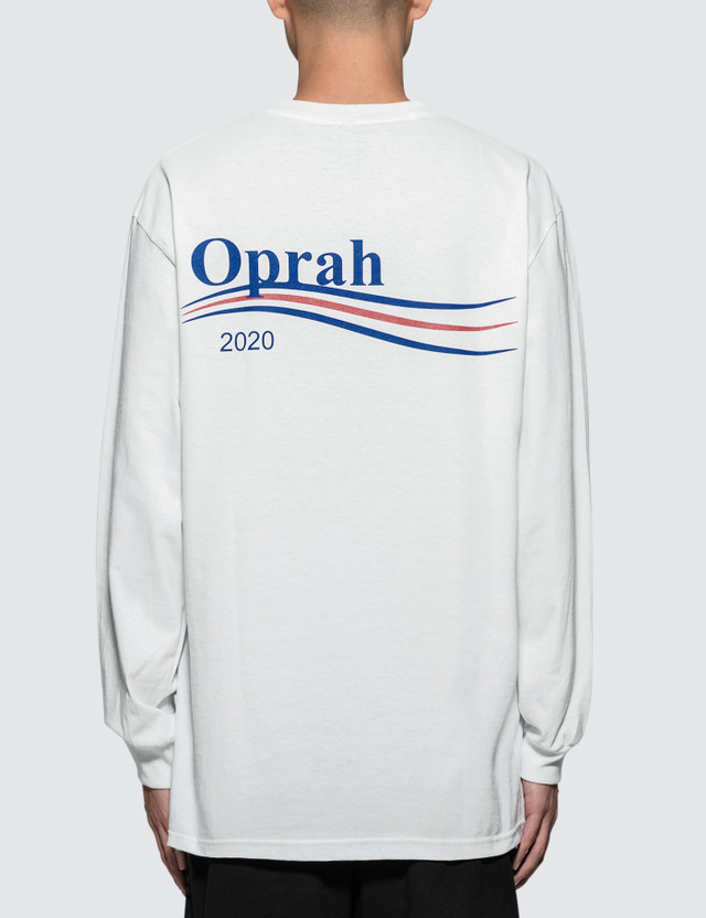 6927b704 Pizzaslime - Oprah 2020 Long Sleeve T-Shirt | HBX