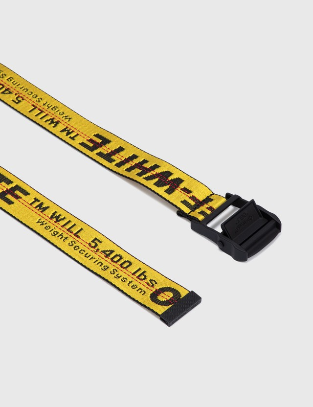 Off-White Classic Industrial Belt Yellow Women
