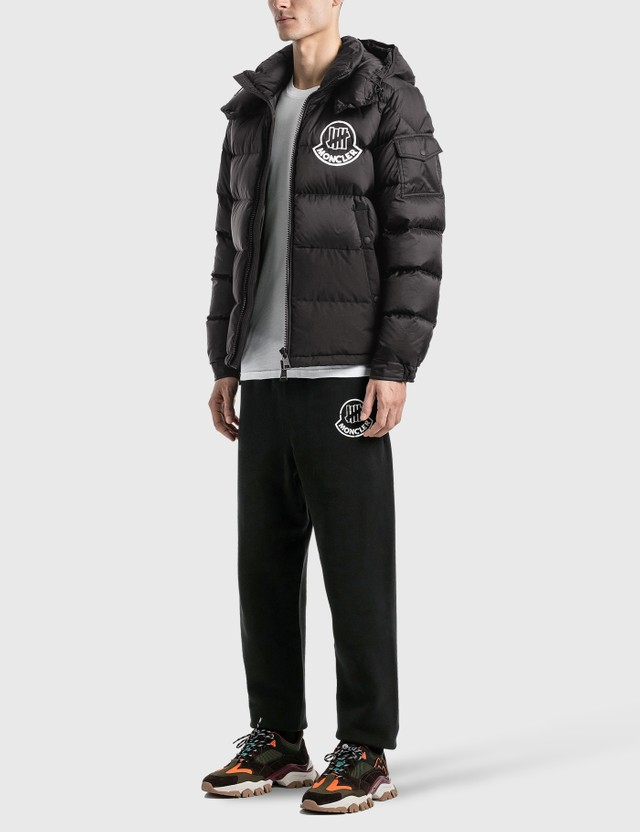 Moncler Genius 1952 x UNDEFEATED Logo Sweatpants Black Men